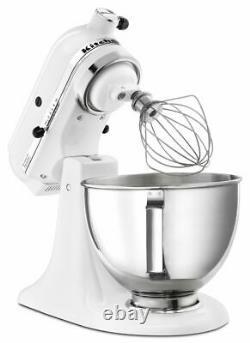 Nouveau Kitchenaid 4.5-quart Tilt Head Stand Mixer Withbowl With Handle White