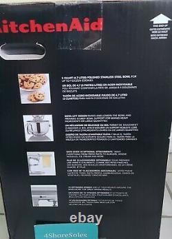 Nouveau Kitchenaid Pro 5 Plus Kv25g0xic Ice Blue Aqua 5-quart Bowl Lift Stand Mixer
