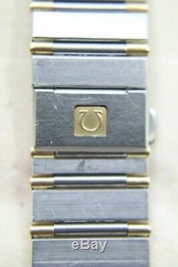 Omega Constellation Deux-tone En Or 18 Carats En Acier Inoxydable 32mm Montre Pintes