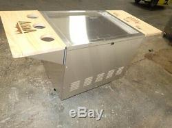 Patio En Acier Inoxydable Airia Cooler Panier 50 Pintes, A0044