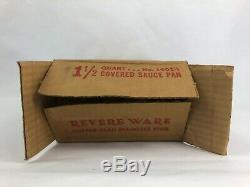 Poêle À Sauce Couverte Vintage En Acier Inoxydable Revers Ware Vintage Revere Ware