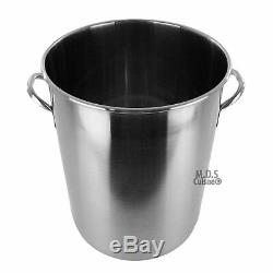 Pot En Acier Inoxydable 53 Pintes Avec Panier Pour Passoire
