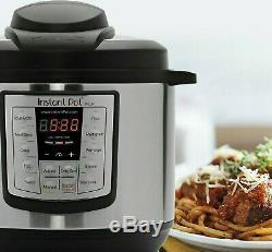 Pression Pot Instantanée Cuisinière 12 En 1 Programmable 8 Pintes Électrique En Acier Instapot
