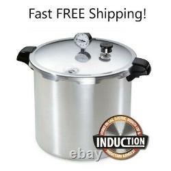 Presto 23 Pintes Induction Pression Canner Cuisinière En Acier Inoxydable 01784 Fast Ship