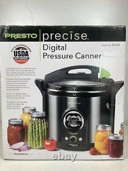 Presto Précis 12 Litres Électrique & Digital Pressure Canner