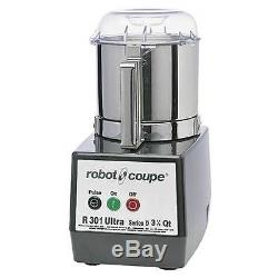 Robot Culinaire Robot Coupe R301 Ultra B Avec Bol En Acier Inoxydable De 3,5 Pintes