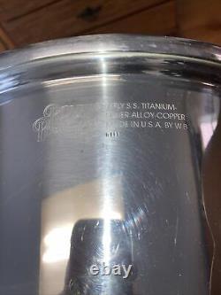Royal Prestige 12 Quart Stock Pot Hollandais Four 7 Ply Argent Alliage Cuivre USA