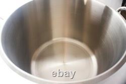 Royal Prestige 63 Quart Pot En Acier Inoxydable Avec Insertion Livraison Gratuite