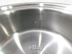 Saladmaster 1 Saucepan Pot 316ti Titane En Acier Inoxydable Sans Eau Us