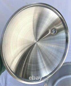 Saladmaster 316ti Titanium 16 Quarts Stock Pot Waterless Cookware Excellent