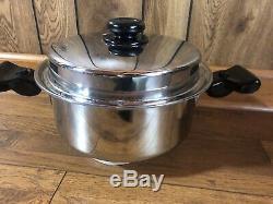 Saladmaster 316ti Vaisselle En Titane 5 Pintes Inoxydable Batterie De Cuisine Sans Eau Pot