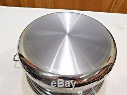 Saladmaster 7 Quart Stock Pot 316ti Titanium Acier Inoxydable Sans Eau Us