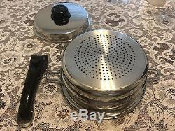 Saladmaster Acier Inoxydable Vapo Couvercle En Acier Inoxydable Titanium Hs-316ti