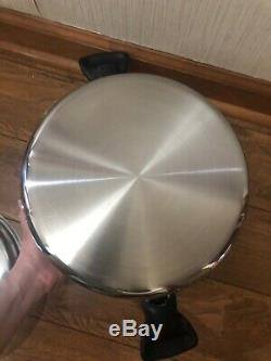 Saladmaster Batterie De Cuisine 7 Pintes Stock Pot Pan