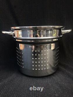 Saladmaster T304s En Acier Inoxydable 10 Pintes Insérer Marmite Waterless Made USA