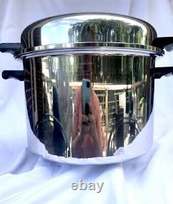 Saladmaster T304s Stainless Steel 12 Litres Stock Pot Waterless Cookware États-unis