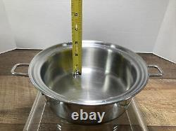 Saladmaster Versa Tec 1 Quart Tp304-316 Poêle À Sauce En Acier Inoxydable Chirurgical