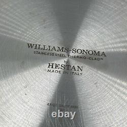 Thermo-clad En Acier Inoxydable De Williams Sonoma Par Hestan 4.5 Saute Pan