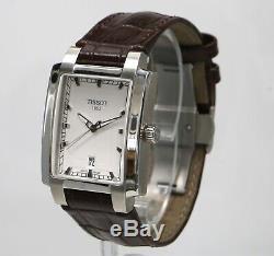 Tissot T-trend Txl T061510a Cadran Argenté Brown Bracelet Mens Watch Suisse Pintes