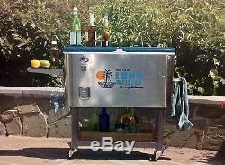 Tommy Bahama Cooler - Long Week-end, Glacière En Acier Inoxydable D'une Capacité De 100 Pintes