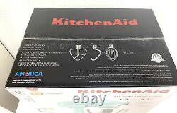 Tout Neuf Kitchenaid Mixer Deluxe 4.5 Pintes 4.3 Litres Ksm97mi Tilt Head Stand