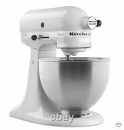 Tout Nouveau Kitchenaid Classic 4.5-quart Tilt Head Stand Mixer White Fast Ship