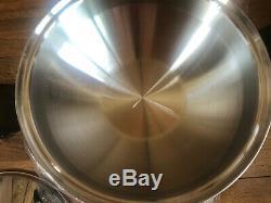 Townecraft Chefs Ware 5 Pintes Wok Vintage Inoxydable Chirurgical Batterie De Cuisine Non Utilisée