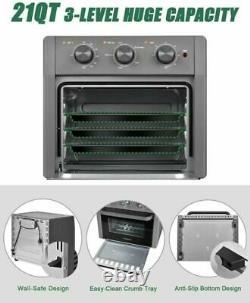 Us 5in1 Air Fryer Grille-pain Four 21 Quart Comptoir Convection Four Avec Air Fry