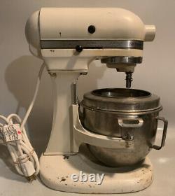 Vintage Hobart-kitchenaid K5-a 5 Pintes 10 Vitesses Batteur Withaccessories
