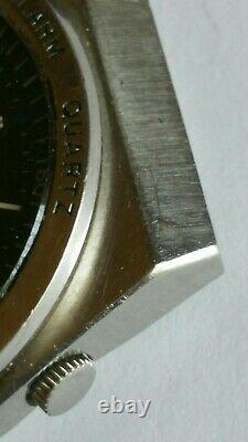 Vintage Seiko Alarme Quartz 7223 Jour/date Montres Homme 012255 Japon A