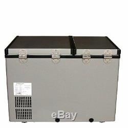 Whynter Fm-62dz Réfrigérateur / Congélateur Portatif À Deux Zones, 62 Pintes