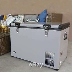 Whynter Fm-65g Réfrigérateur / Congélateur Portable 65 Pintes, Platinum