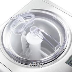 Yogourt Glacé D'acier Inoxydable De Fabricant De Crème Glacée De 1,6 Quart De Machine Automatique